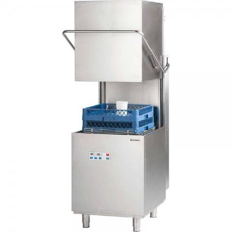 Zmywarka kapturowa 500x500, 11.1 kW z dozownikiem płynu myjącego i pompą wspomagającą płukanie