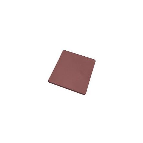Deska do krojenia z polietylenu brązowa