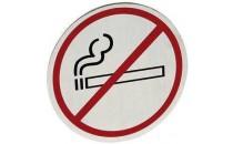 Tabliczka informacyjna samoprzylepna - zakaz palenia