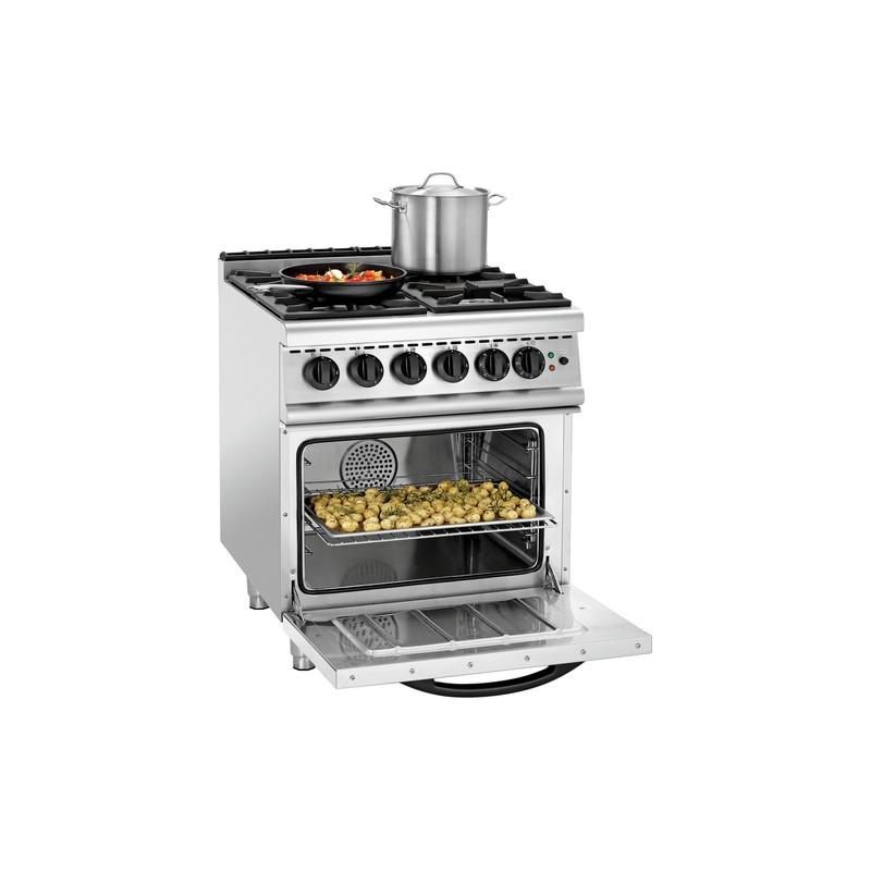 4 Palnikowa Kuchnia Gazowa Ghu 4110 Z Piekarnikiem Elektrycznym Z