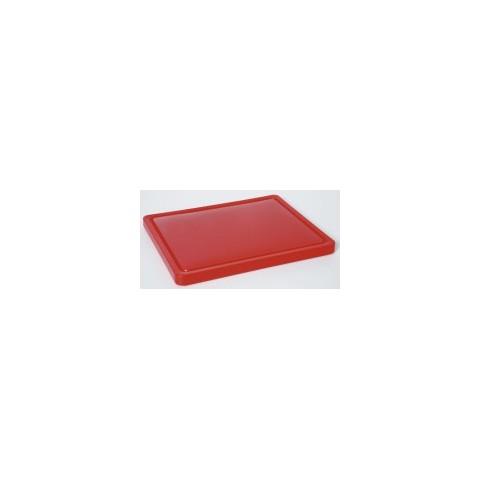 Deska do krojenia HACCP czerwona