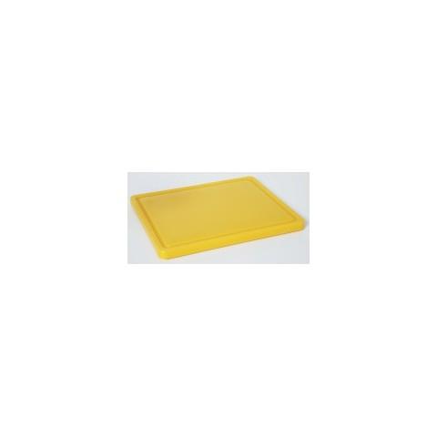Deska do krojenia HACCP żółta