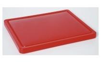 Deska do krojenia mała, HACCP czerwona