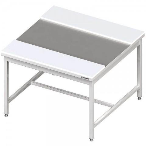 Stół centralny z płytami polietylenowymi 1200x1400x850 mm skręcany