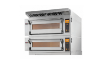 Piec elektryczny piekarniczy modułowy szamotowy | 8x600x400 | TRD66