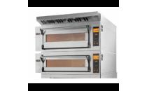 Piec elektryczny piekarniczy modułowy szamotowy | 8x600x400 | szeroki | TRD66/L