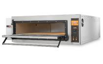 Piec elektryczny piekarniczy modułowy szamotowy z podwyższaną komorą | 4x600x400 | TRD6H