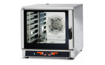 Piec konwekcyjno-parowy FED06 | 6xGN1/1 | 6x600x400 | sonda | 9 programów | 7,65kW