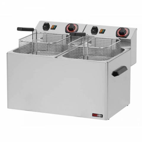 Frytownica elektryczna 8 + 8 l Redfox FE - 77