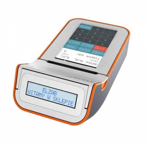Kasa ELZAB K10 online BT/WiFi biały/pomarańczowy