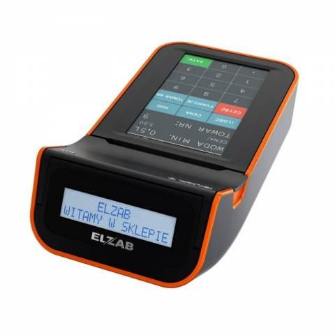 Kasa ELZAB K10 online BT/WiFi czarny/pomarańczowy