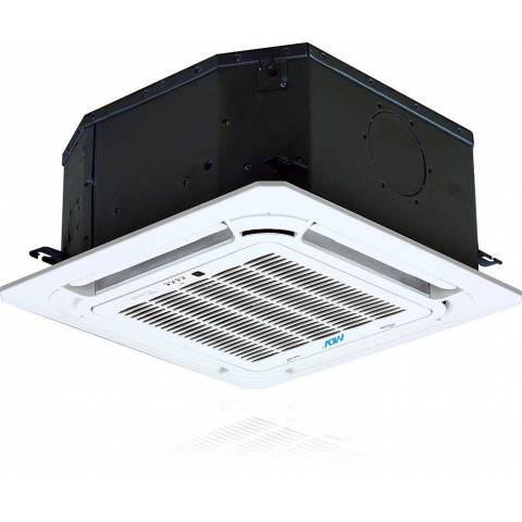 Klimatyzator Office Standard kasetonowy kompaktowy 570x570 mm R410 komplet moc 5.3 kW