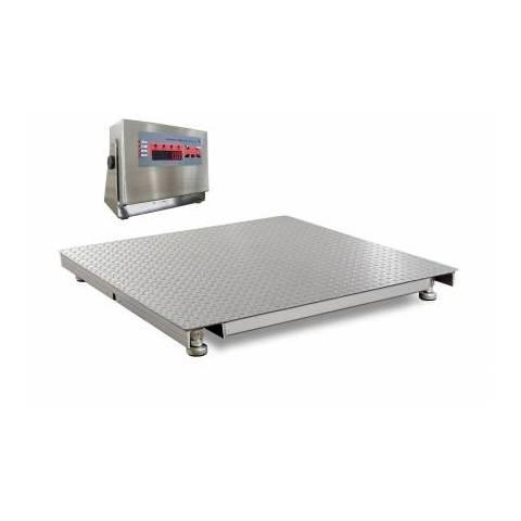 Waga pomostowa niskoprofilowa nierdzewna TP-1500/4 1000 x 1000 ECO-N