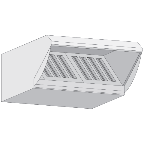 Okap kondensacyjny Rational UltraVent typ 62 i 102 elektryczny