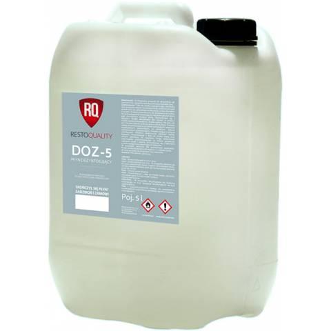 Zestaw płynów do dezynfekcji  5L DOZ-5 3 szt.