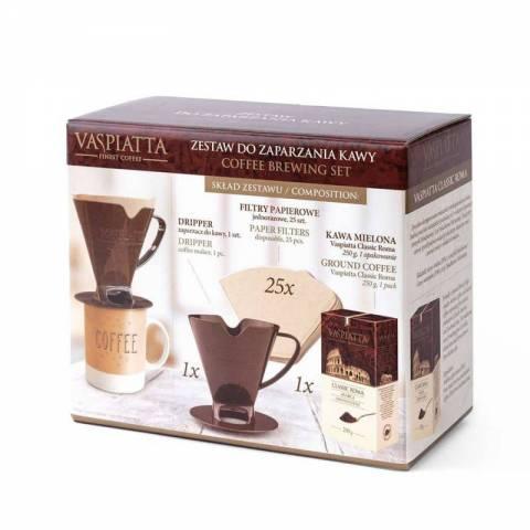 Zestaw do zaparzania kawy VASPIATTA CLASSIC ROMA