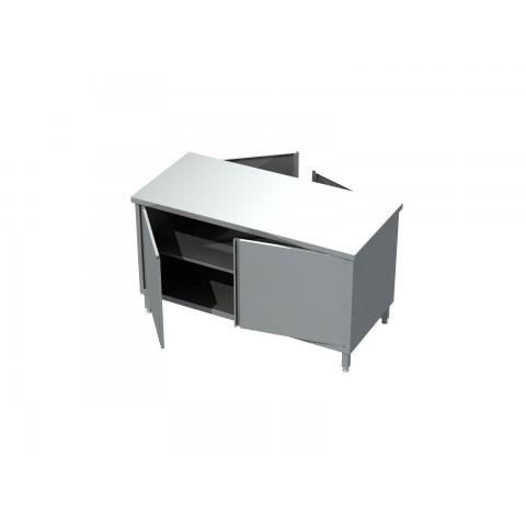 Stół-szafka przelotowa drzwi otwierane 0411 EKO 800x600x850