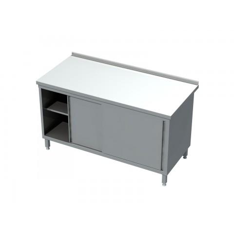 Stół-szafka, drzwi suwane 0412  EKO 800x600x850mm