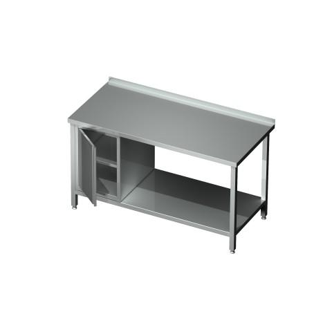 Stół-szafka drzwi otwierane z blokiem 2 szuflad 0423  EKO 800x600x850mm