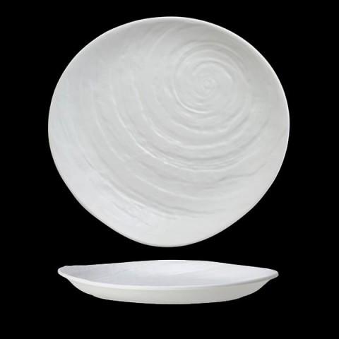 SCAPE Melamina talerz 28cm biały /6
