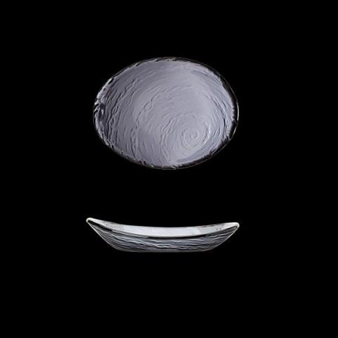 SCAPE Glass miska 20cm dymny /12