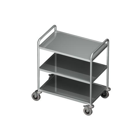 Wózek kelnerski 3 półkowy 0705/3 EKO 800x500x950mm