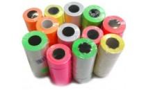 Metka prostokątna 26x16 kolor