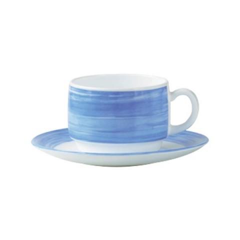 BRUSH Filiżanka niebieska 190ml 12/48