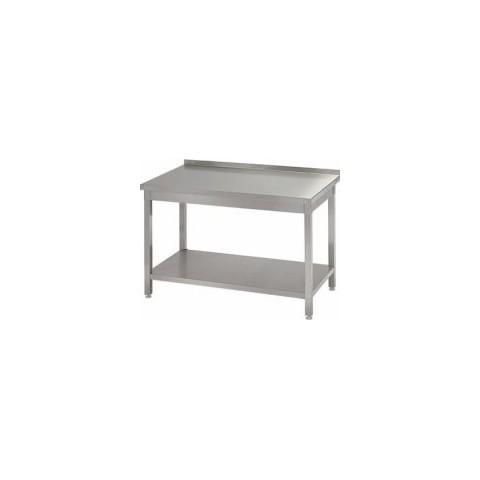 Stół przyścienny z półką 1200 x 600 x 850mm