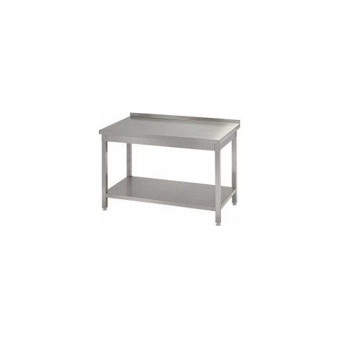Stół przyścienny z półką 1400 x 700 x 850mm