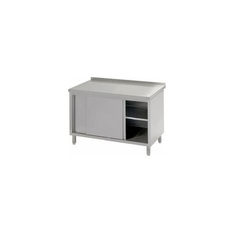 Stół przyścienny z drzwiami suwanymi 1400 x 700 x 850mm