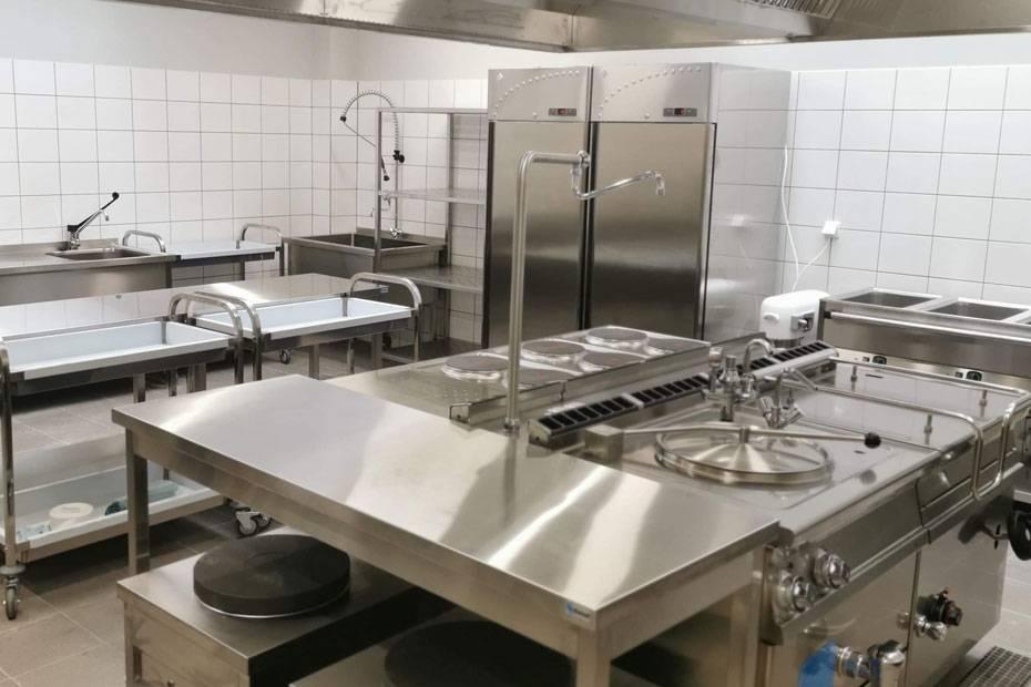 Wyposażenie kuchni szkolnej