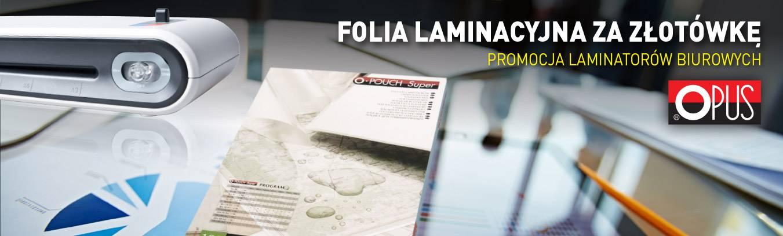 Promocja laminatorów OPUS