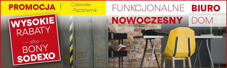 Funkcjonalne biuro - nowoczesny dom